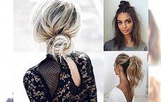 Łatwe fryzury, które idealnie sprawdzą się, kiedy będziesz spóźniona