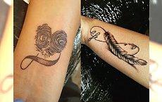 Infinity tattoo - 20 nowych, dziewczęcych wzorów z symbolem nieskończoności