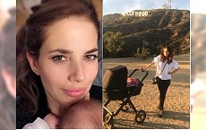 Weronika Rosati pokazała zdjęcie z córką. Instamatka: Dziecko okapturzyła, a sama w letnie się ubrała