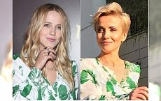 Katarzyna Zielińska i Jessica Mercedes w takiej samej sukience. Tylko jedna z nich wyglądała w niej jak milion dolarów