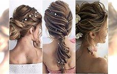 Romantyczne fryzury ślubne - najpiękniejsze koki i upięcia z kwiatami