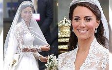 Miała nie jedną, a... DWIE SUKNIE ŚLUBNE. Jak wyglądała druga kreacja księżnej Kate?
