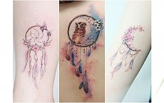 Tatuaż DREAMCATCHER - łapacz snów. Ten motyw nigdy się nie znudzi! Przejrzyjcie nowe pomysły na WZORY
