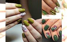 Majowy manicure we wszystkich odcieniach zieleni - 20 pomysłowych stylizacji