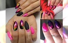 Efekt dymu na paznokciach: 20 pomysłów na modny manicure na lato