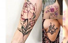 Tatuaże kwiaty - najpiękniejsze wzory, które skradną Twoje serce!