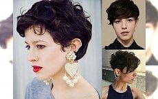 Oryginalne fryzury dla brunetek i szatynek - 22 pomysły na krótkie cięcie