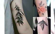 Śliczne tatuaże inspirowane naturą - 20 kobiecych wzorów