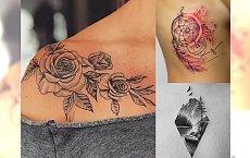 Kobiece tatuaże 2018 - ponad 30 supermodnych, unikalnych wzorów
