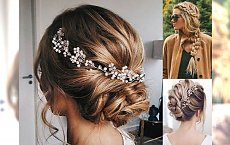 Kobiece fryzury z długich włosów - na wesele, randkę i inne okazje