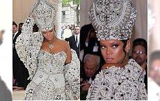 Met Gala: 2018: Rihanna przebrała się ZA PAPIEŻA! Hit czy kit?