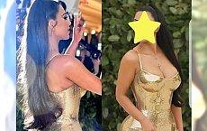 Kim Kardashian na Met Gali wyglądała ZUPEŁNIE INACZEJ! Czy to tylko zasługa makijażu?