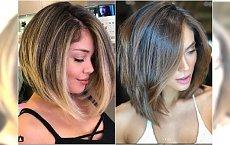 Średnie fryzury - proste i bardzo kobiece! 20 najpiękniejszych cięć na lato
