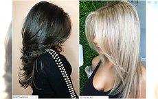 Fryzury cieniowane - najpiękniejsze cięcia dla długich i średnich włosów