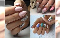 Geometryczne wzory na paznokciach. Gorący trend lata!