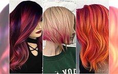 Modne kolory włosów na lato: pastele, efekt sunset, soczyste czerwienie