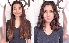 Skracamy włosy do długości uniwersalnej - 17 najpiękniejszych fryzjerskich metamorfoz