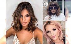 Bardzo modne cięcia dla włosów średniej długości - najświeższe trendy 2018