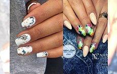 Kwiaty na paznokciach – top 21 pomysłów na letni manicure