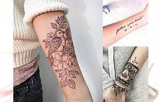 Tatuaż na przedramieniu - najpiękniejsze wzory dla dziewczyn