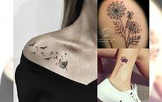 Tatuaż dmuchawiec - najpiękniejsze pomysły na ten ultramodny motyw!