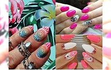 Manicure 2018: mandala nails na lato! Zobacz najpiękniejsze propozycje