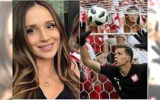 Mecz Polska-Litwa: Ciężarna Marina Łuczenko na trybunach! Fani: Ślicznie wyglądasz, będzie syn
