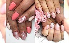 Kobiecy manicure w modnych odcieniach różu - malinowy, koralowy, pudrowy i inne