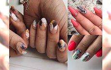 Feather manicure - supermodne zdobienia paznokci z motywem piórka