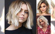 Modne fryzury o długościach do ramion – ich ułożenie nie zajmie Ci więcej niż 10 minut!
