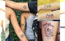 Tatuaże dla Ciebie i Twojej bratniej duszy - galeria uroczych pomysłów