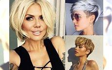 Półkrótkie i krótkie fryzury dla blondynek - idealne na letnią metamorfozę