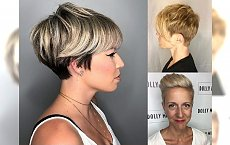 Nowoczesne cięcia dla włosów krótkich - perfekcyjne dla blondynek!