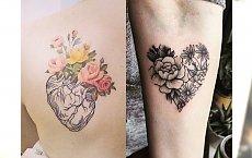 Tatuaże serce - najpiękniejsze wzory tradycyjne i anatomiczne