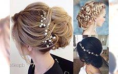 Fryzury ślubne, które robią wrażenie - galeria trendów na ten sezon