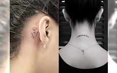 Małe tatuaże są na topie! Galeria najciekawszych wzorów