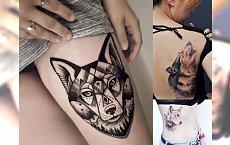 16 pomysłów na intrygujący i tajemniczy tatuaż z motywem wilka [GALERIA]