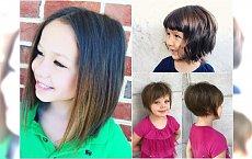 Fryzury dla dziewczynek: z grzywką, cieniowane, bob. Najpiękniejsze cięcia dla twojej córki!