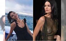 """Kendall Jenner TOPLESS dla magazynu """"Love"""". Dryfuje w basenie w SAMYCH MAJTKACH! Musicie to zobaczyć"""