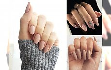 Nude manicure największym hitem 2018 - 25 odsłon, które skradną Ci serce! [galeria]