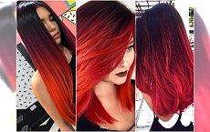 Włosy ombre w ożywczych kolorach. 20 pomysłów na zachwycającą jesienną koloryzację
