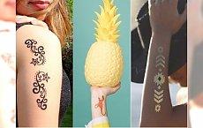 Eleganckie, zabawne, możesz je zmieniać jak biżuterię! Tatuaże zmywalne NIE TYLKO dla dzieci