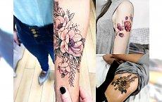 Flowers tattoos - najciekawsze kobiece wzory, które nigdy nie wyjdą z mody