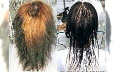 Klientka przyszła do fryzjera z takimi włosami. Zobaczcie efekt po. WOW, to za mało powiedziane!