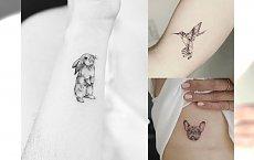 Animal tattoos - prześliczne małe tatuaże, które skradną Ci serce!