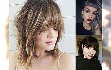 Fryzury z grzywką - ultrakobiece cięcia dla włosów o różnych długościach