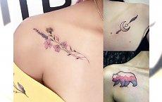 Tatuaże na obojczyk - 20 inspirujących wzorów dla dziewczyn