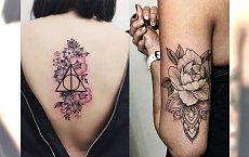 Tatuaże kwiaty - galeria przepięknych wzorów dla kobiet
