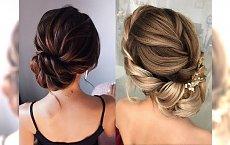 20 odsłon fryzur na wesele dla włosów długich i półdługich