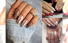 Marmurkowy manicure - przeglądamy najnowsze trendy